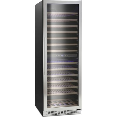 166 Bottle Capacity Wine Cooler Class D Stainless Steel - 5060217413395