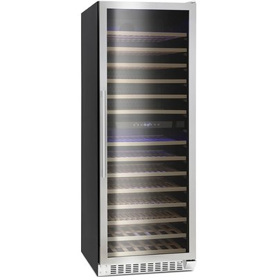 181 Bottle Capacity Wine Cooler Class D Stainless Steel - 5060217413401