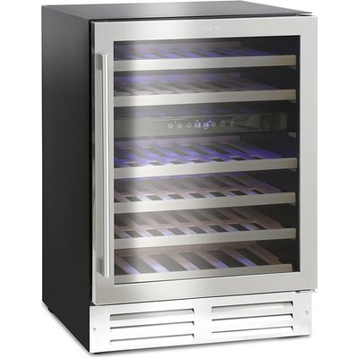 46 Bottle Capacity Wine Cooler Class C Stainless Steel - 5060217413371