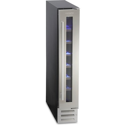 7 Bottle Capacity Wine Cooler Class B Stainless Steel - 5060217413340