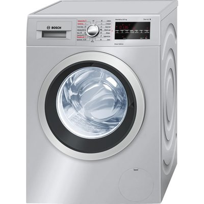 Bosch WVG3046SGB Washer Dryer  8kg Wash 5kg Dry Load  A Energy Rating  1500rpm Spin  Silver - 4242002863047