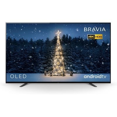A high powered processor in this 4K OLED TV creates a beautiful OLED picture in  - KD55A8BU