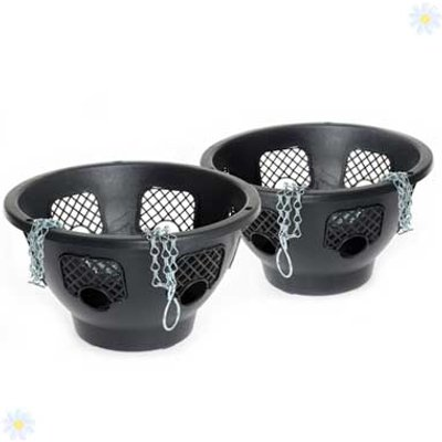Pair of 12 Easyfill Hanging baskets
