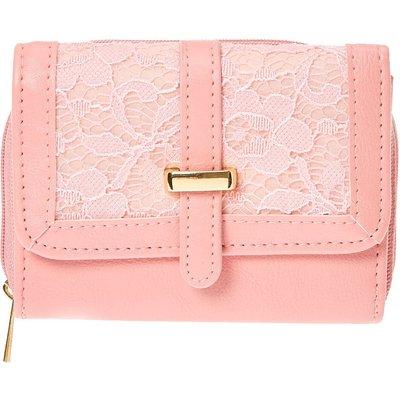 Blush Pink Lace Purse