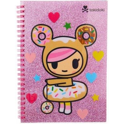 Neon Star by tokidoki Pink Glittery Notebook