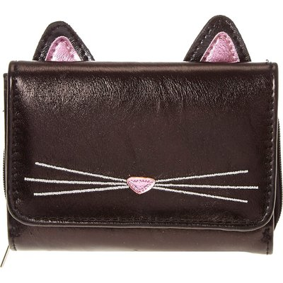 Black Cat Mini Wallet