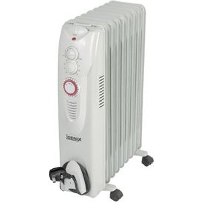 2KW OIL FILLED RADIATOR 9 FIN WITH 24HR TIMER