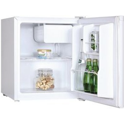 47 LITRE COUNTER TOP  FRIDGE WITH LOCK WHITE