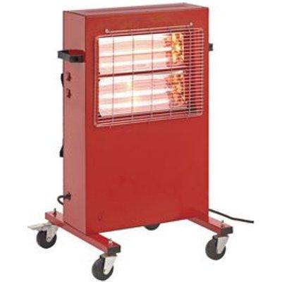 Quartz infra-red mobile heater - 230v