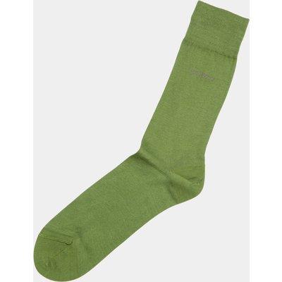 Hugo Boss Plain Green Socks