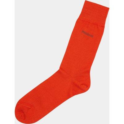 Hugo Boss Plain Orange Socks