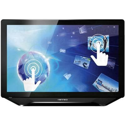 Touchscreen 58 4 cm 23  Hanns GHT231HPB16 95 msDVI  HDMI     VGA  USB  Headphone jack  3 5 mm TSTN - 4711404020223