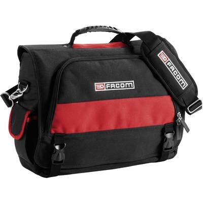 3662424008603: Facom Laptop bag Suitable for max  38 1 cm  15  Black  Red