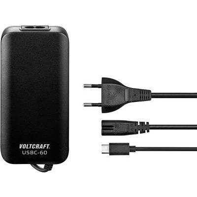 USB charger VOLTCRAFT USBC 60 W 3 A - 4016139148410