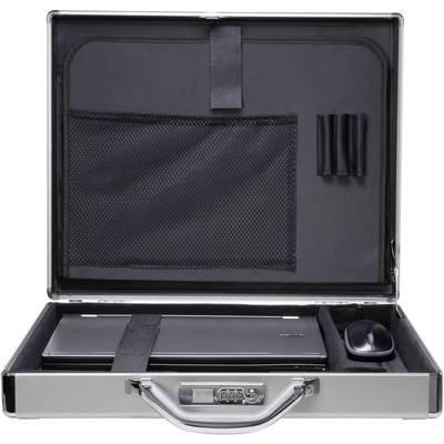 Renkforce Laptop hard case JJV 2003S Suitable for max  39 6 cm  15 6  Aluminium - 4016139153018