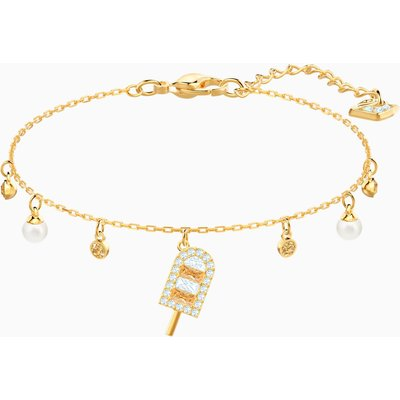 No Regrets Ice Cream Bracelet, Multi-coloured, Gold-tone plated
