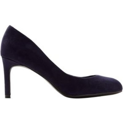 M&S Womens Wide Fit Stiletto Heel Court Shoes - 3 - Navy, Navy