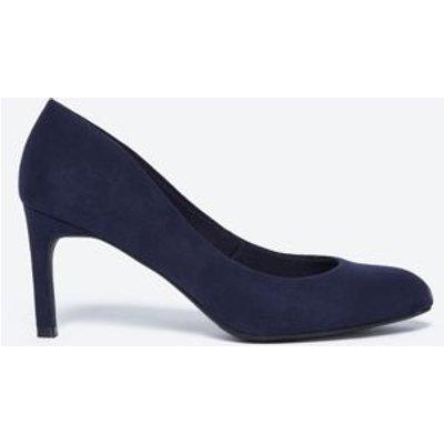 M&S Womens Stiletto Heel Court Shoes - 5.5 - Navy, Navy