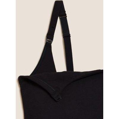 """M&S Womens Cotton Secret Supportâ""""¢ Nursing Vest - 8 - Black, Black,Soft Pink,White"""