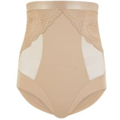M&S Womens Medium Control Waist Cincher Knickers - 8 - Rose Quartz, Rose Quartz