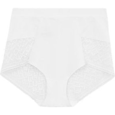 "M&S Womens Bodyâ""¢ Medium Control High Waisted Shaping Knickers - 8 - White, White"