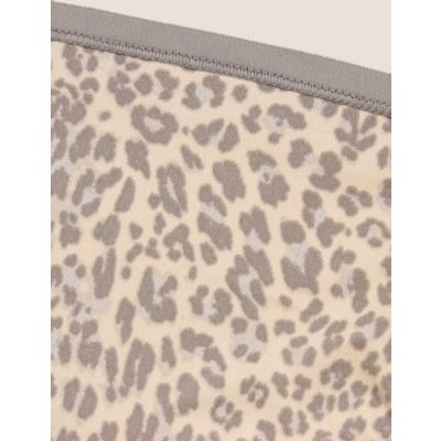 M&S Womens 5pk No VPL Microfibre High Leg Knickers - 8 - Cream C, Cream C