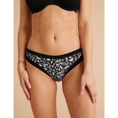 "M&S Womens 3pk Flexifitâ""¢ Modal Mix Brazilian Knickers - 6 - Black Mix, Black Mix"