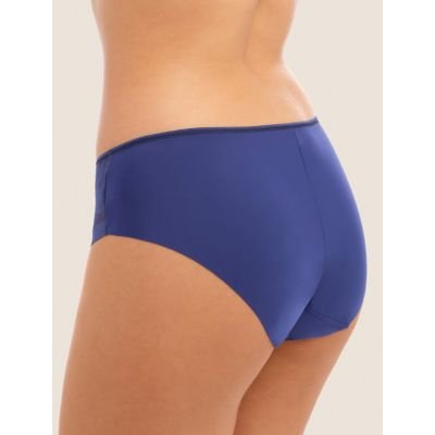 M&S Fantasie Womens Illusion High Rise Midi Knickers - Navy, Navy