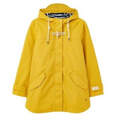 M&S Joules Womens Pure Cotton Waterproof Raincoat - 6 - Antique Gold, Antique Gold