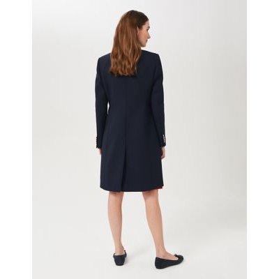M&S Hobbs Womens Pea Coat - 16 - Navy, Navy