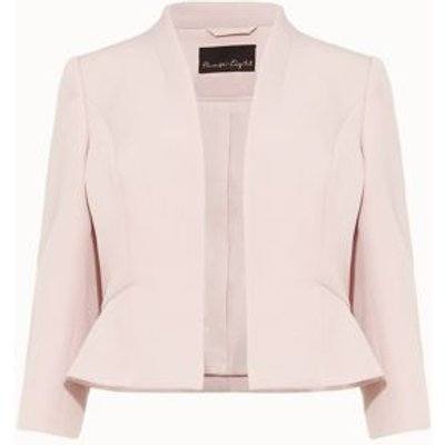 M&S Phase Eight Womens Cropped Jacket - 8 - Pink, Pink
