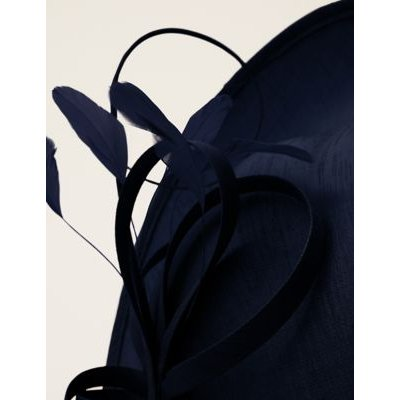 M&S Phase Eight Womens Twist Disc Fascinator - 1SIZE - Blue, Blue