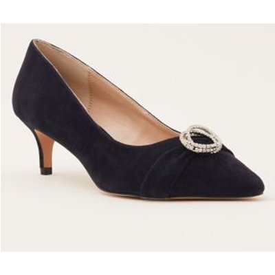 M&S Phase Eight Womens Sparkle Court Shoes - 4 - Blue, Blue
