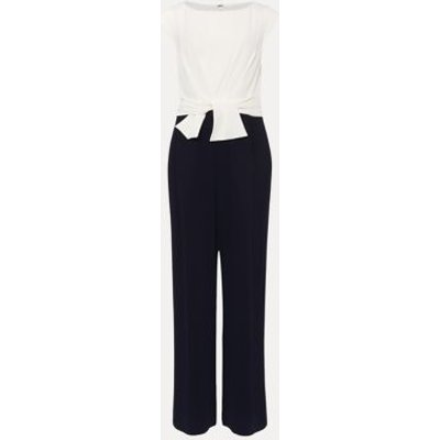 M&S Phase Eight Womens Knot Front Jumpsuit - 8 - Cream, Cream
