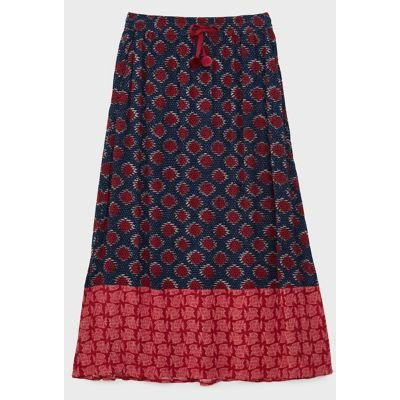 M&S White Stuff Womens Printed Maxi Slip Skirt - Multi, Multi