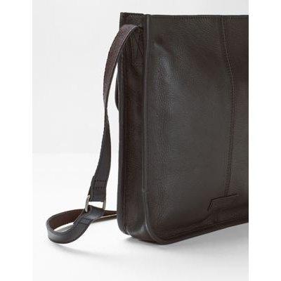M&S White Stuff Womens Leather Cross Body Bag - 1SIZE - Black, Black