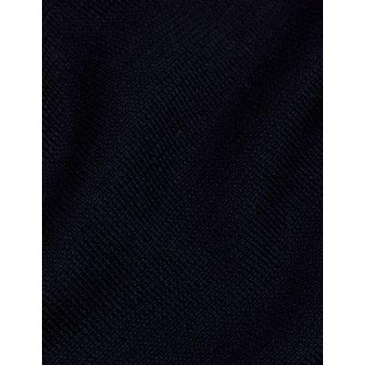 M&S Jaeger Womens Longline Cardigan - XS - Navy, Navy,Black