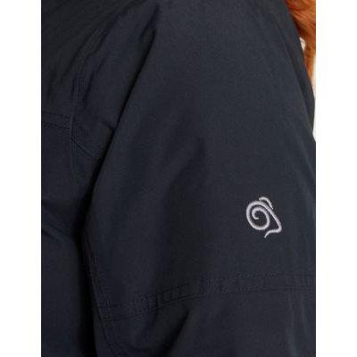 M&S Craghoppers Womens Waterproof Hooded Parka Coat - 10 - Blue, Blue