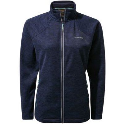 M&S Craghoppers Womens Funnel Neck Zip Up Jacket - 6 - Blue, Blue