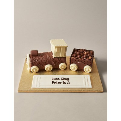 Personalised Extremely Chocolatey Express Train Cake (Serves 22)