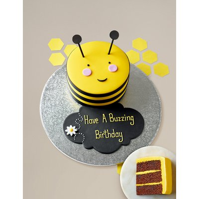 Personalised Stripe the Bumblebee Cake (Serves 16)