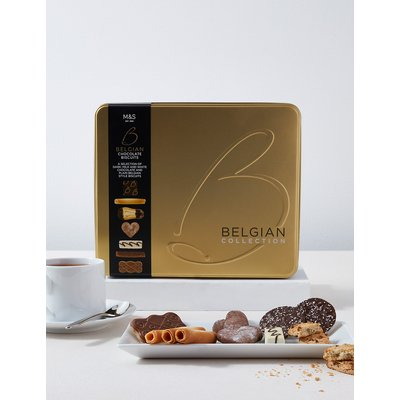 Belgian Collection Biscuit Tin (1kg)