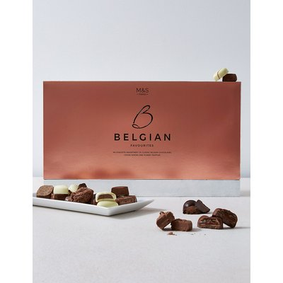 Luxury Belgian Chocolate Assortment Gift