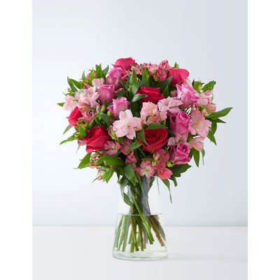 Fairtrade Rose & Alstroemeria Bouquet (Available for delivery from 5th September 2019)