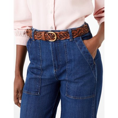 Leather Jean Belt brown
