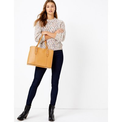 M&S Collection Soft Stud Tote Bag