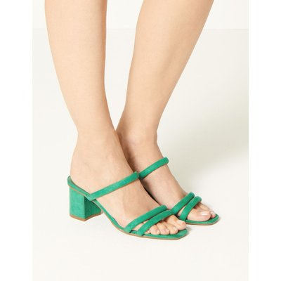 Two Band Sandals green