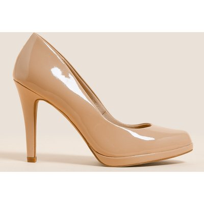 M&S Collection Patent Stiletto Heel Court Shoes