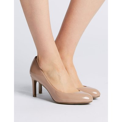 M&S Collection Wide Fit Stiletto Heel Court Shoes