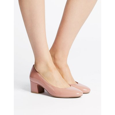 M&S Collection Wide Fit Court Shoes